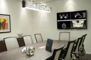 Advanced Dental Implants & Periodontology Scottsdale Arizona Consultation Room