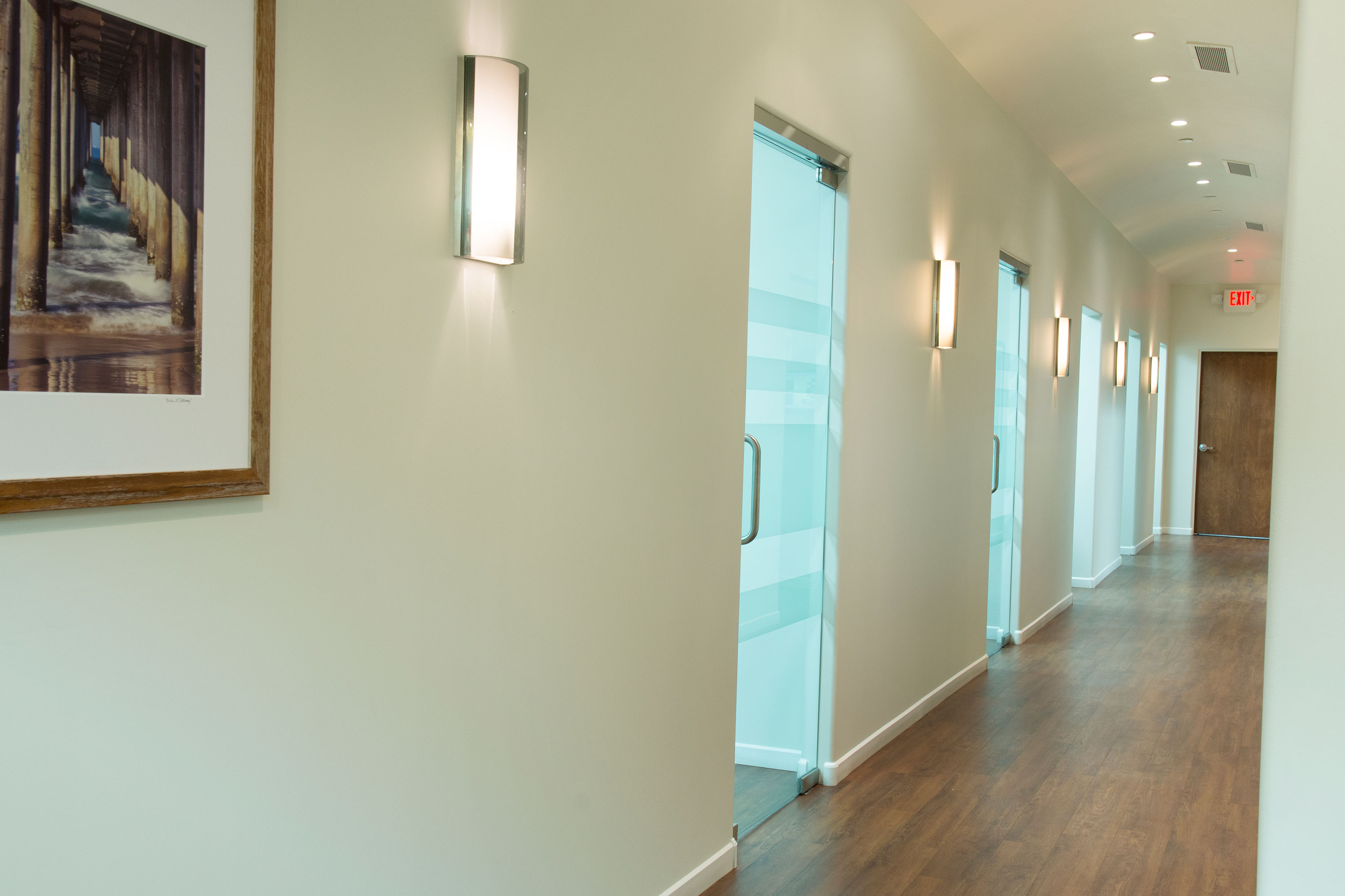 Advanced Dental Implants & Periodontology Scottsdale Arizona Hallway